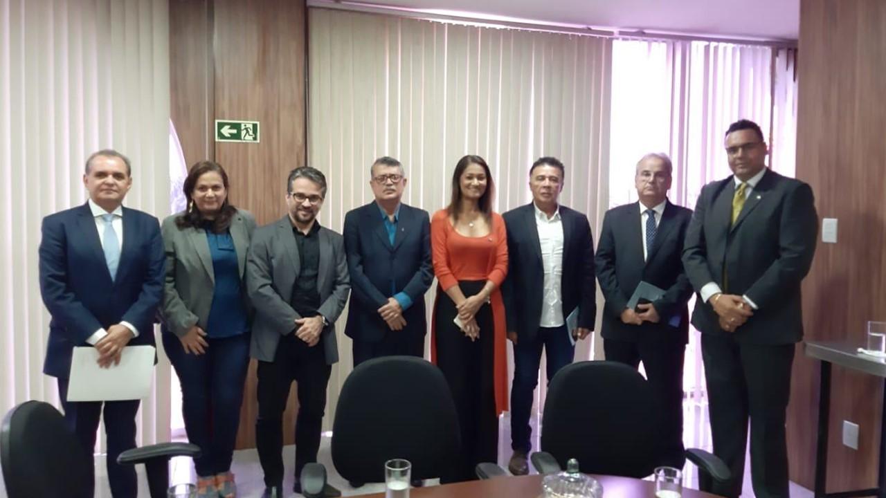 Diretor da Câmara de Gestão Pública do CFA visita o CRA-AL