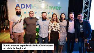 CRA-AL promove segunda edição do ADMMandaver na cidade de Arapiraca.