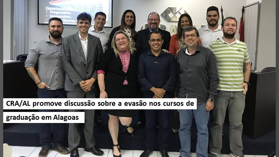 CRA/AL promove discussão sobre a evasão nos cursos de graduação em Alagoas