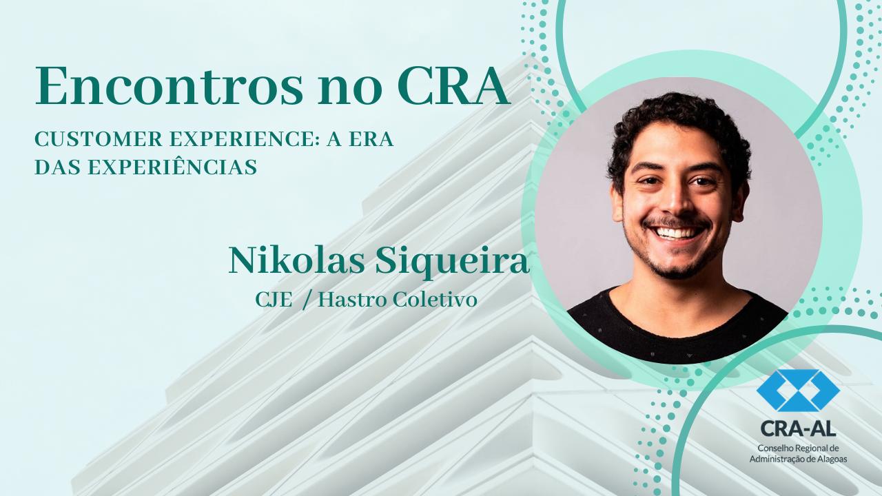 """Última edição do """"Encontros no CRA"""" do ano de 2019 será no dia 12 de novembro. Inscreva-se!"""