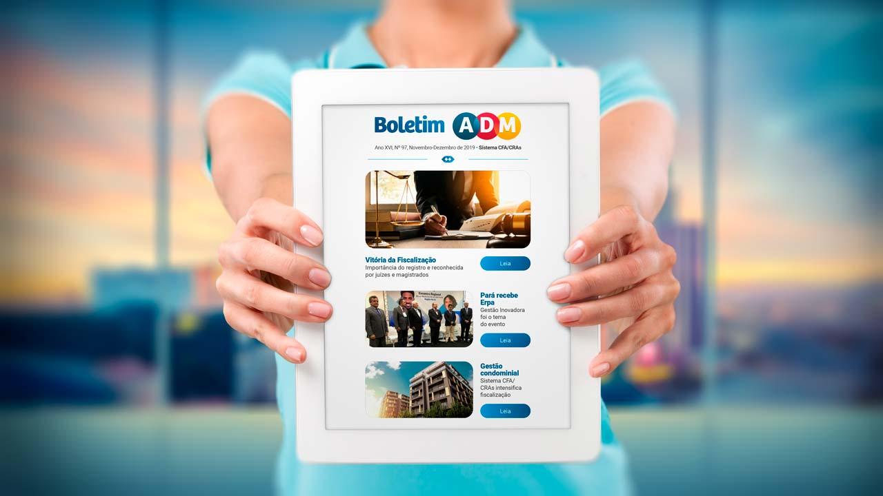 Último Boletim ADM do ano já está disponível para leitura