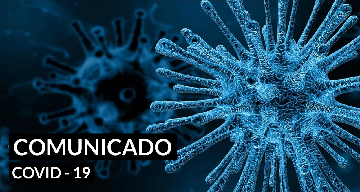 CRA-AL pausa eventos por causa da pandemia mundial